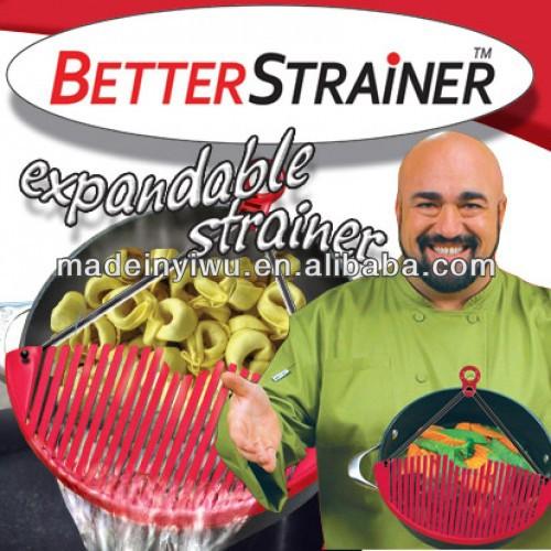 Better Strainer厨房沥水器厨房过滤器蔬菜食物沥水器厨房小工具