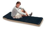INTEX充气床垫单人织物野营气垫床 防潮垫 水陆两用