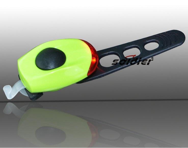 新款自行车硅胶灯LED醒目灯 //SJ-6021-2背包灯