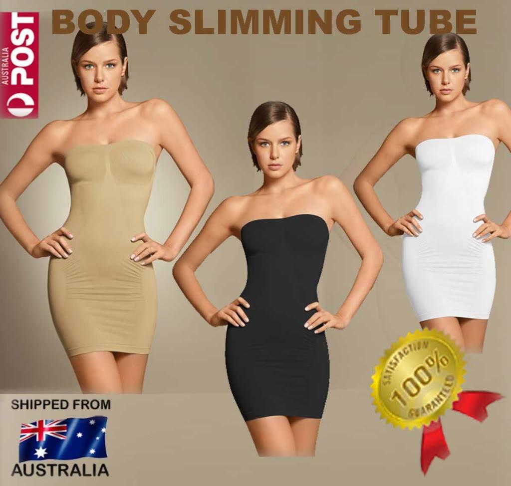 slimming tube女士塑身收腹裹胸裙