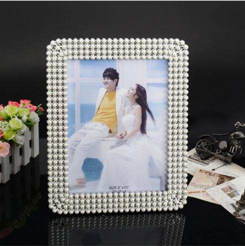 义乌好货 欧式ABS相框批发 摆台结婚礼物影楼相框 703B