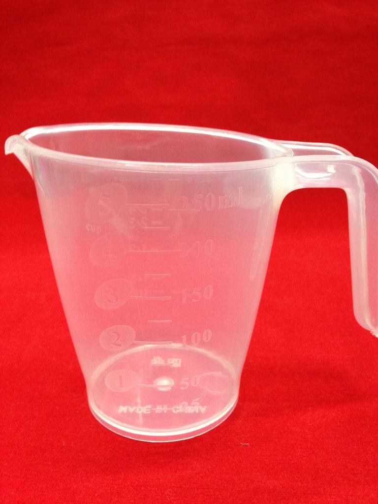 250ml量杯透明量杯塑料量杯151-9060