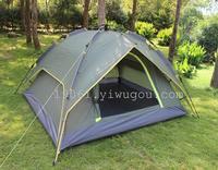 杭嘉帐篷3-4人多人双人双层户外野营露营防雨全自动野外帐篷