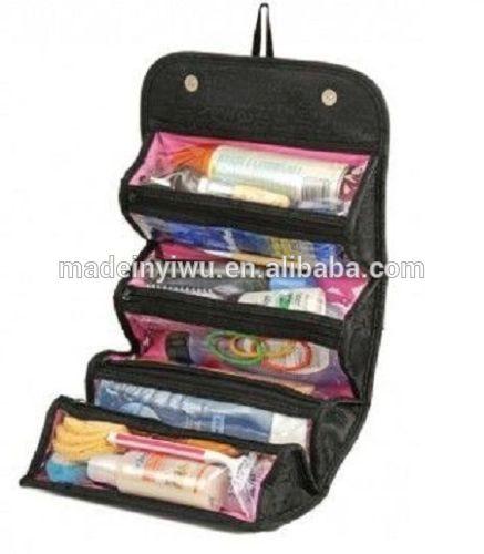 Roll-N-GO Cosmetic Bag超大容量四层旅行