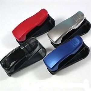 车用眼镜夹 多功能车载眼镜夹 票据夹 名片夹 多色可选