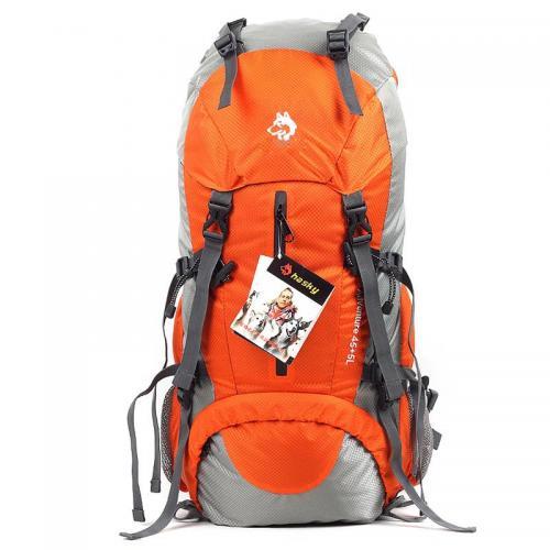 雪橇犬背包户外包野营包徒步包骑行包登山包防雨包50L双肩超轻包