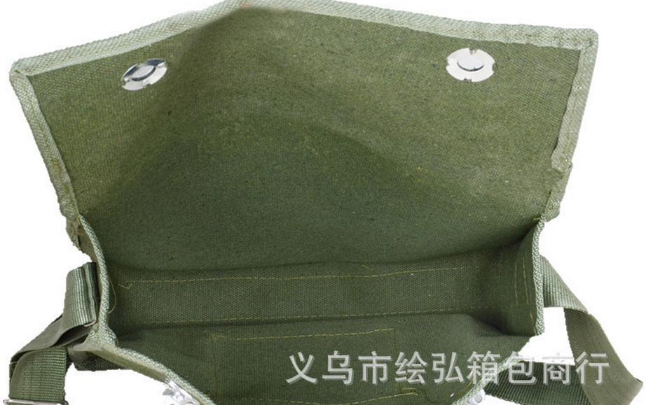 义乌好货 加厚帆布工具包劳保帆布电工包可贴牌定做可印logo