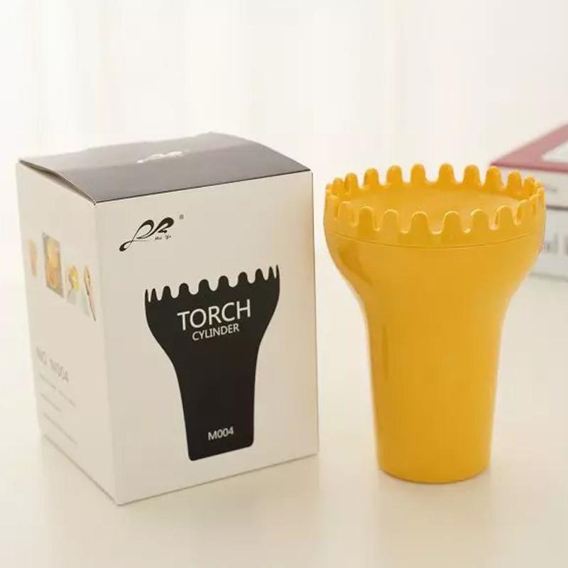 义乌好货 火炬烟灰缸 创意塑料烟灰缸 新奇特广告礼品