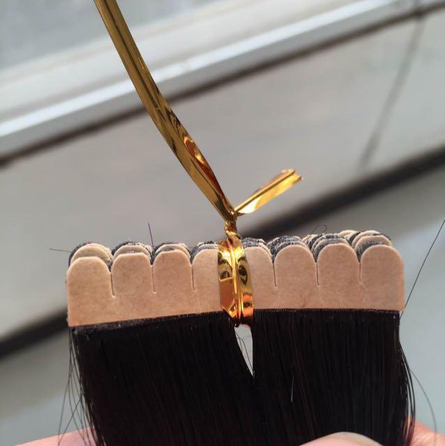 Pu发 隐形真人发发片 瑞士胶 可循环利用,任何颜