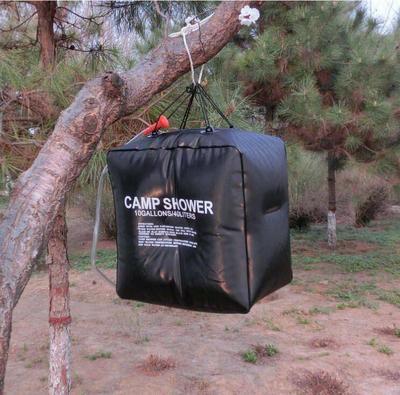 超大容量40升太阳能沐浴袋户外野营洗浴袋淋浴水袋40L特大号