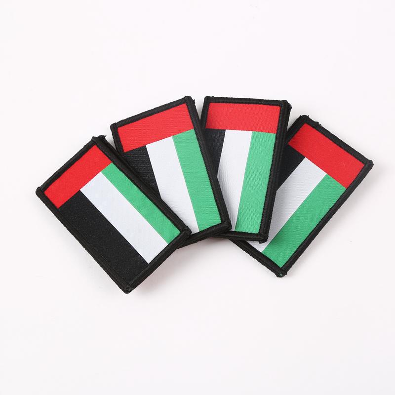 国旗刺绣魔术贴章臂章士气章军迷个性贴章