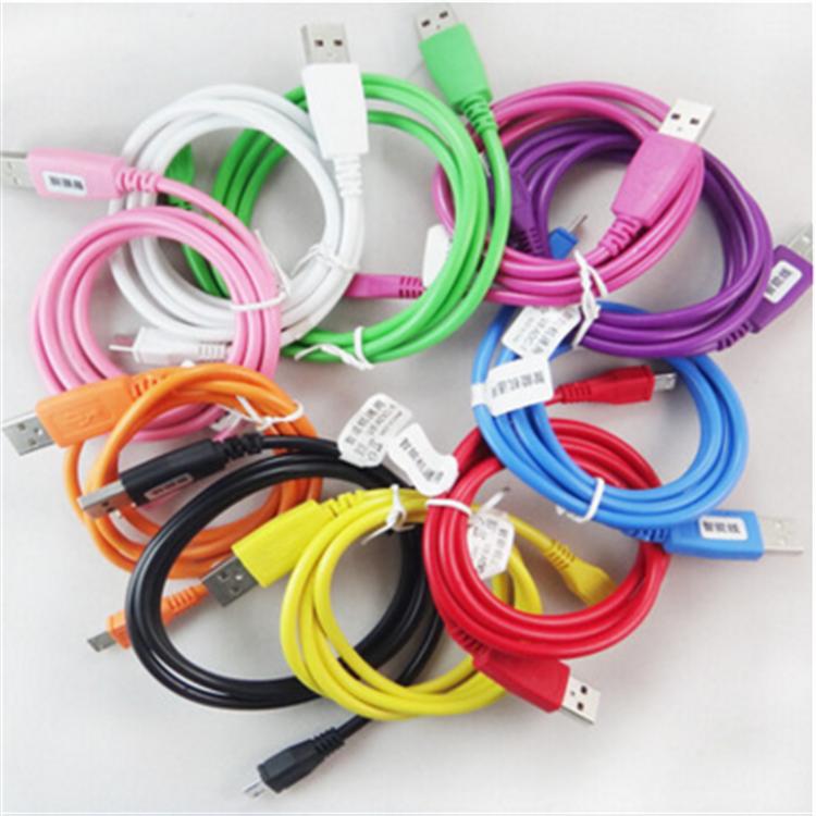 圆线/数据线 V8智能安卓手机通用数据线 Micro USB充电线器