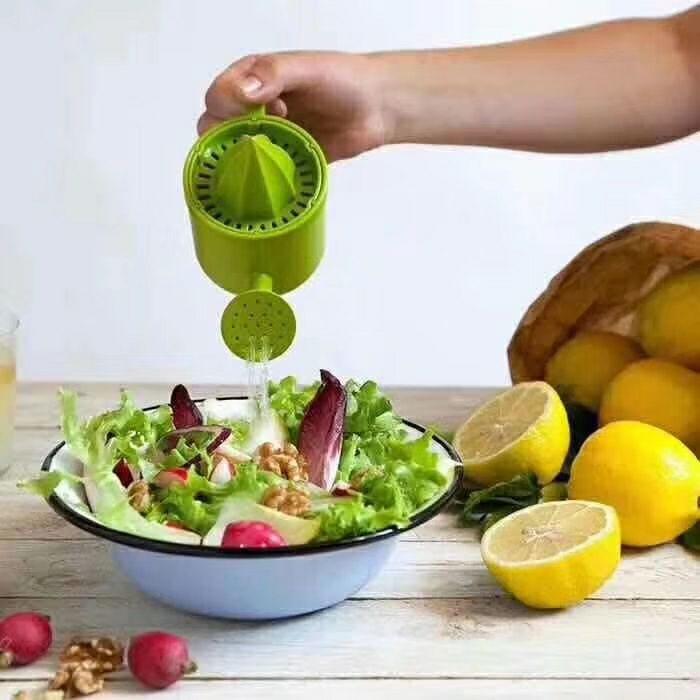 lemon juicer新款洒水壶柠檬手动榨汁机洒水壶榨汁机