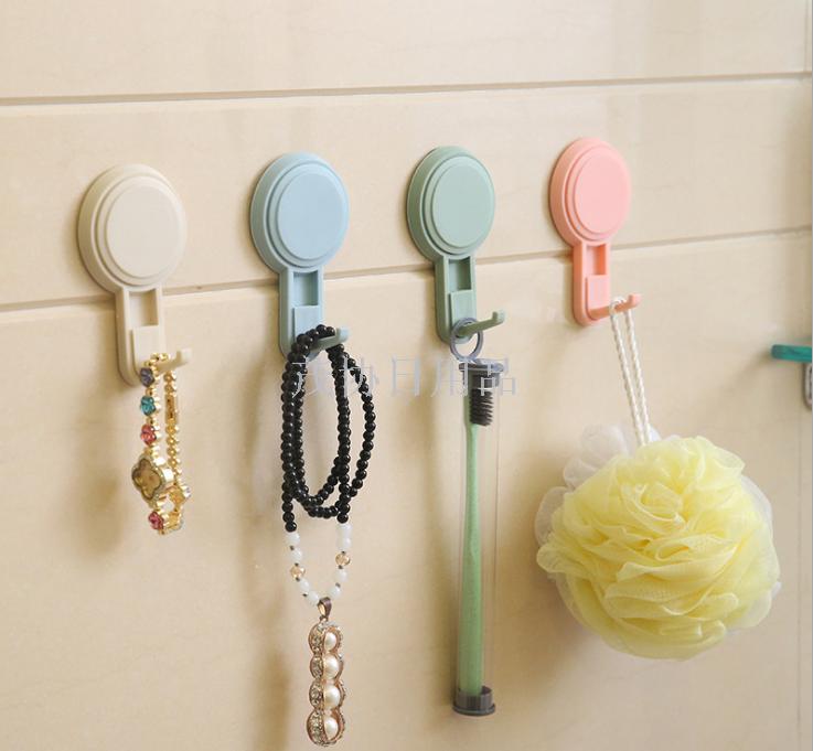 创意强力真空吸盘魔力贴挂钩 厨房挂钩 浴室多用挂钩