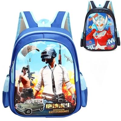 新款3D绝地求生书包吃鸡书包小学生书包男防水儿童双肩包