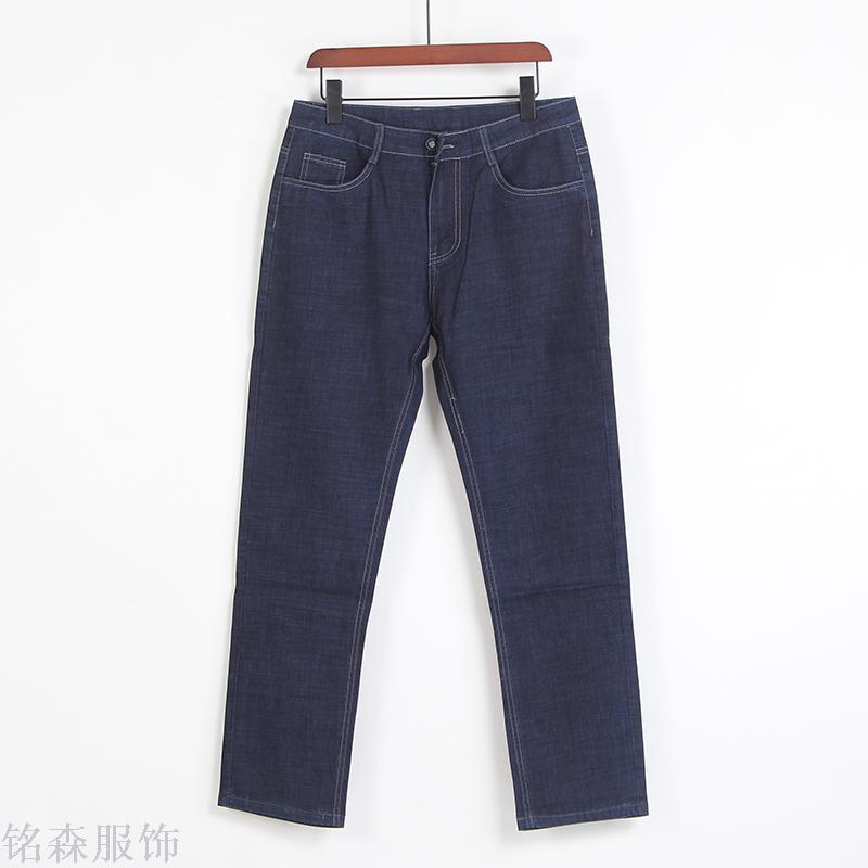 商务男士时尚牛仔裤薄休闲裤