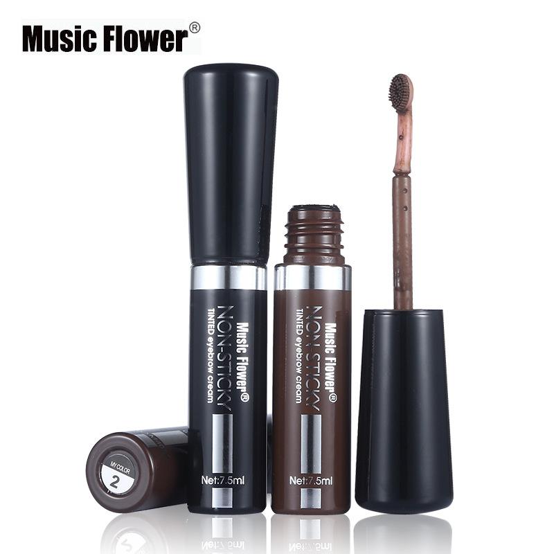 Music Flower沁彩自然眉毛膏染眉膏防水防汗不脱色速干M4057