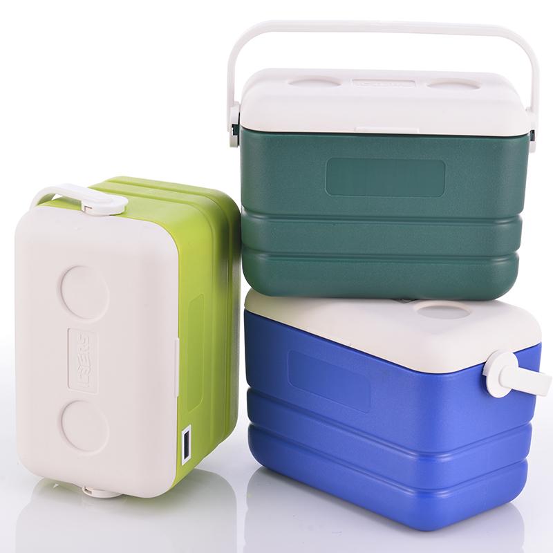 便携式12升保温箱 冷藏箱 野餐保温包 食物保鲜箱cooler box