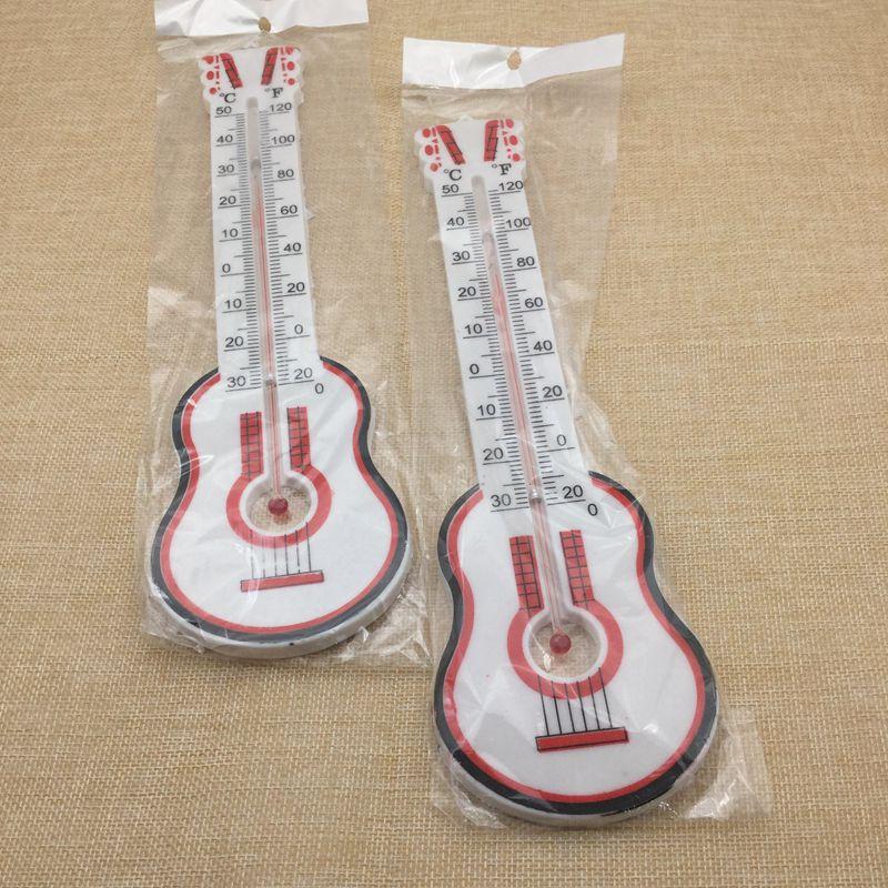 厂家直销 小吉它温度计2元店大量 批发零售 热销