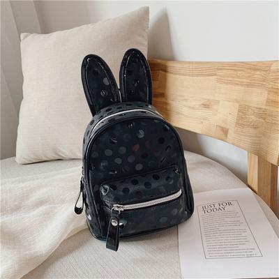 义乌好货 儿童包新款时尚可爱兔耳朵双肩包男女宝宝幼儿园书包