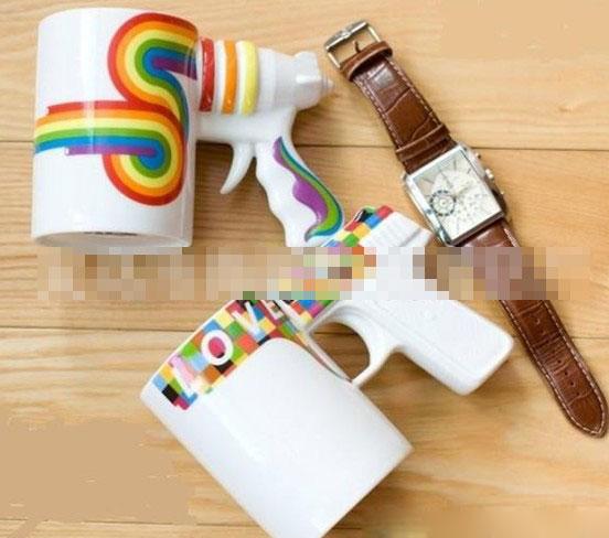 创意手枪杯 新奇特 时尚 手枪马克杯创意礼物