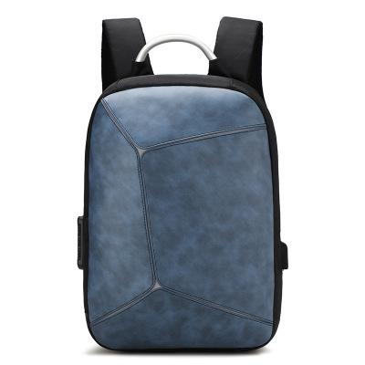 义乌好货 新款时尚旅行双肩包商务防盗包电脑双肩包USB接口电脑包