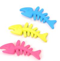 TPR小鱼 宠物狗狗啃咬橡胶玩具鱼骨头 鱼骨头 鱼骨头 鱼骨头TPR
