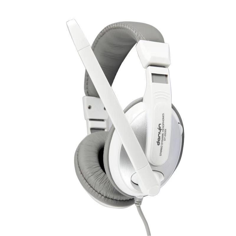 DT2699头戴式电脑游戏大耳机双3.5插头商务用耳麦 工厂批发