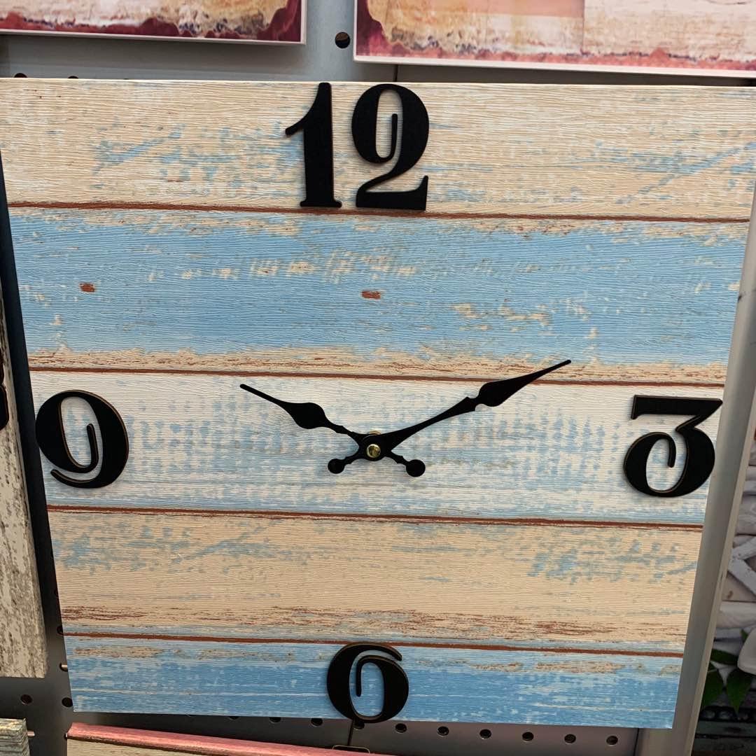 钟表挂钟密度板挂钟时尚潮流挂钟创意挂钟卧室挂钟客厅时钟