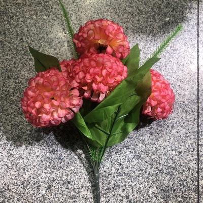 优质仿真绢花塑料花多头牡丹花厂家直销仿真花装饰