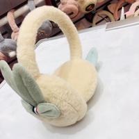 甜美耳套冬季男女士可爱护耳罩仿兔毛保...