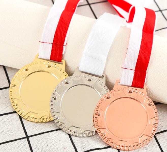 厂家定制锌合金通用奖牌 运动会马拉松比赛奖牌纪念浮雕奖牌定做