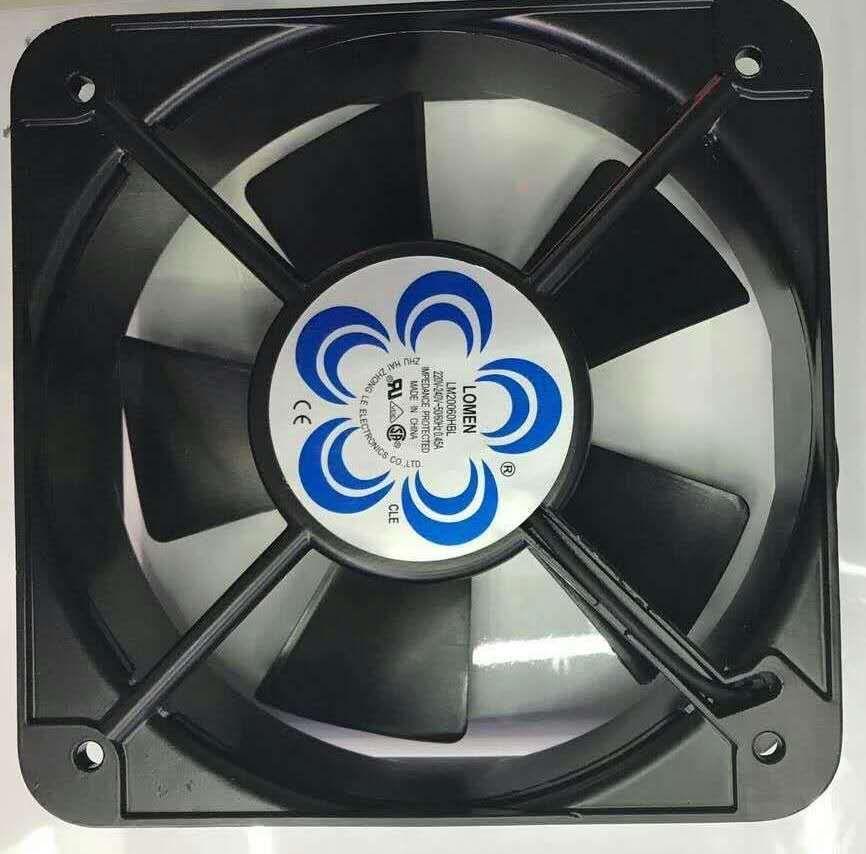 轴流风扇 20060 机箱排风机 220V 变频器 20cm/厘米 散热风扇