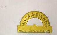 11.3总长塑料半圆量角器尺子2.3横杆