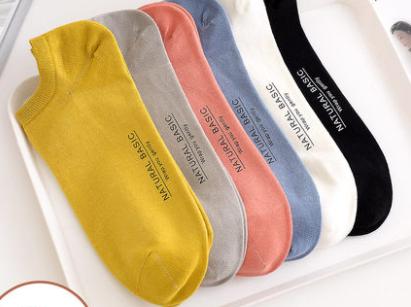 春夏季薄款玻璃丝袜女韩版学院风女袜纯色全棉短袜