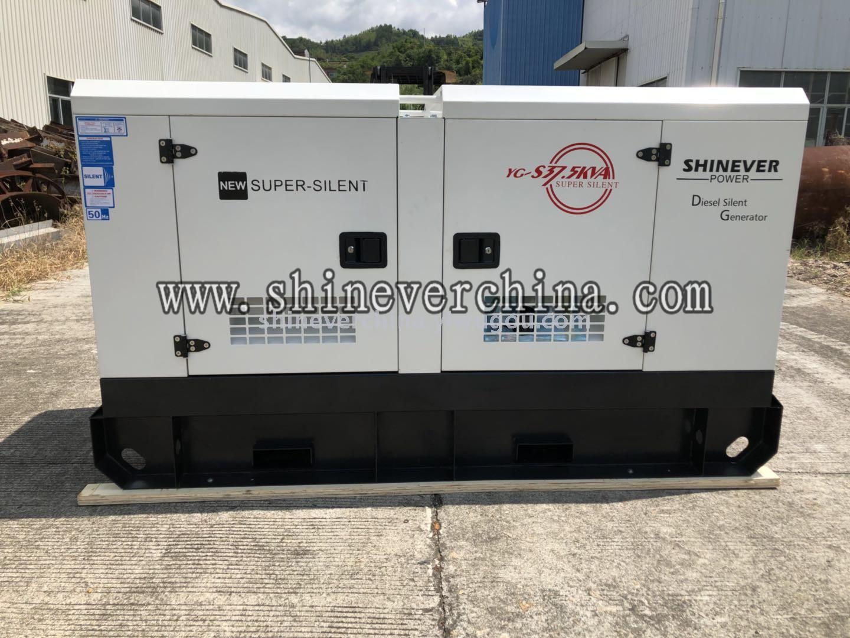 厂家直销全自动静音柴油发电机组 低噪音发电机组