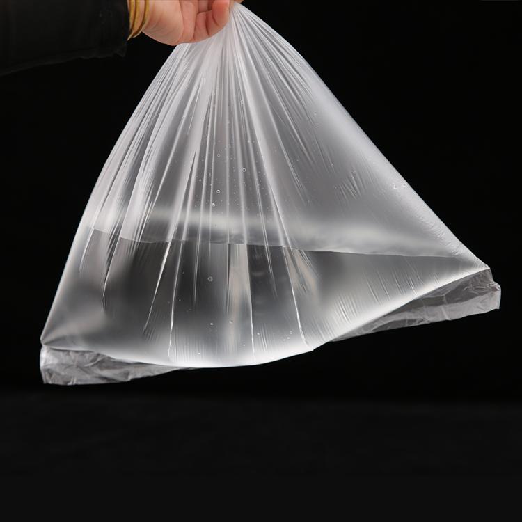 塑料袋定制超市购物供应PE低压透明塑料袋防潮袋现货可定做