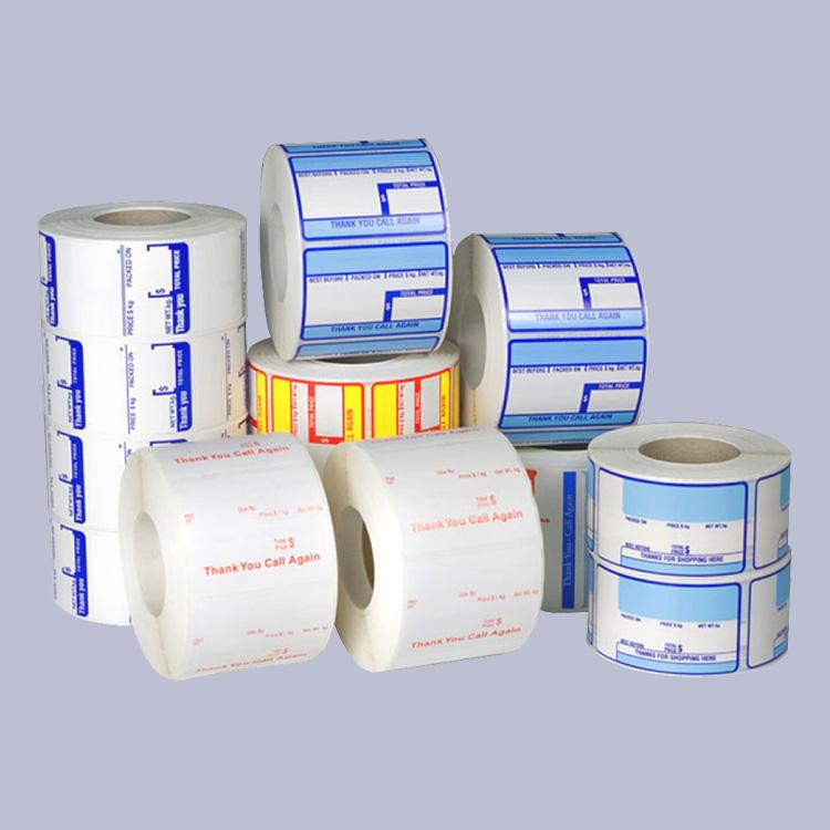 60乘40热敏标签纸不干胶打印纸电子秤条码纸称纸POS机印刷标签纸
