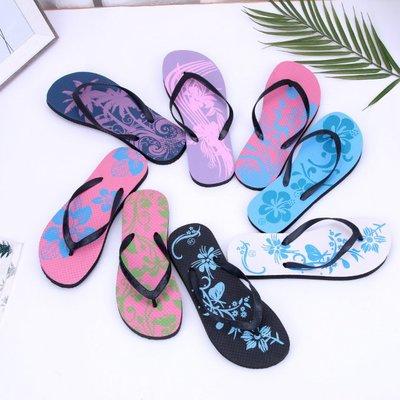 外贸库存处理低价跑量黑底沙滩鞋女PE人字拖源头批发支持来样定制