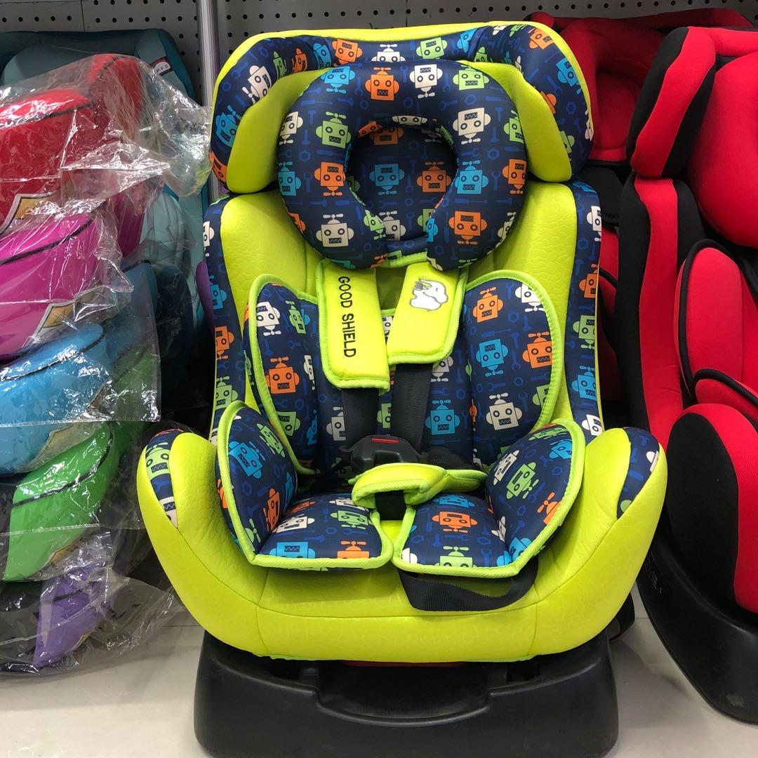 机器人印花绿色0-6岁儿童适用儿童车载安全座椅汽车用品 / 安全/应急/自驾 / 汽车儿童安全座椅