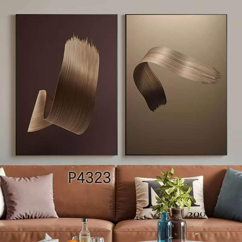 艺彩画廊P4323型号80X80X2cm抽象风格装饰画