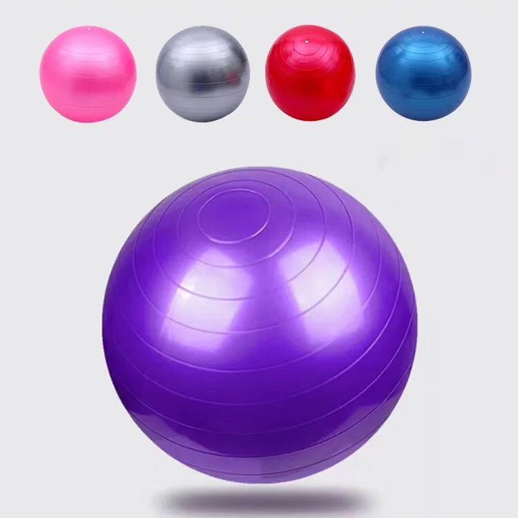 瑜伽健身球按摩球瑜伽球加厚防爆成人健身瑜珈颗粒儿童触感球宝宝感统训练球