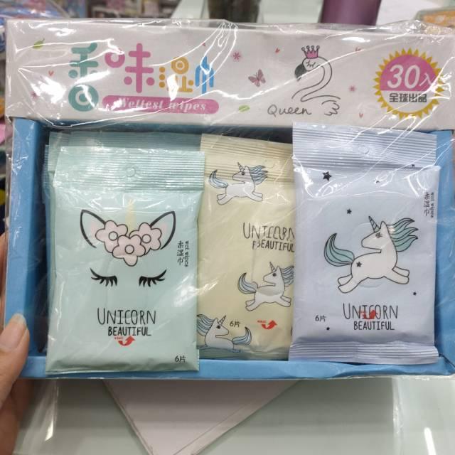 儿童成人皆可使用香味湿巾一盒30包