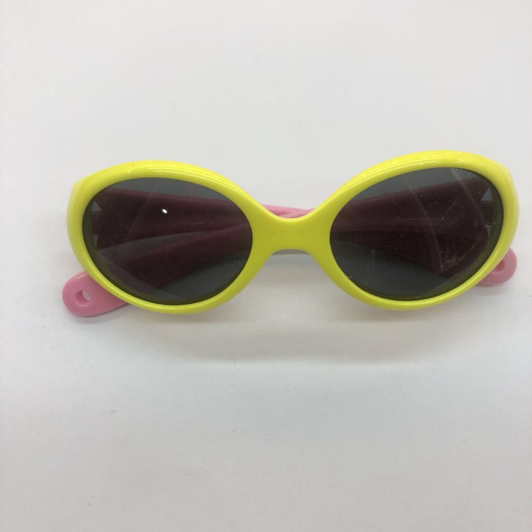 童太阳镜男女眼镜婴幼防紫外线0-3岁防晒潮时尚ins宝宝墨镜