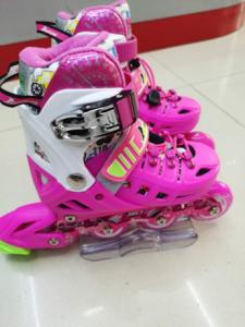 金峰轮滑鞋平花鞋直排轮滑冰鞋儿童全套装