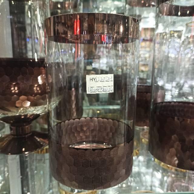 欧式透明玻璃花瓶家居装饰桌面摆件插花瓶
