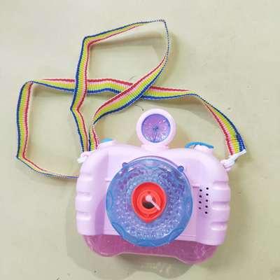 抖音神器网红玩具少女心可爱吹泡泡照相机儿童玩具电动泡泡相机闪光灯式