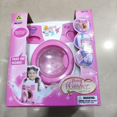 儿童洗衣机过家家玩具仿真迷你小家电洗衣机男女孩电器