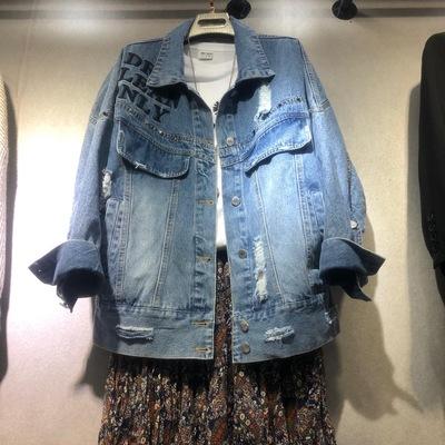 尚品欧韩春季新款蓝色牛仔衣