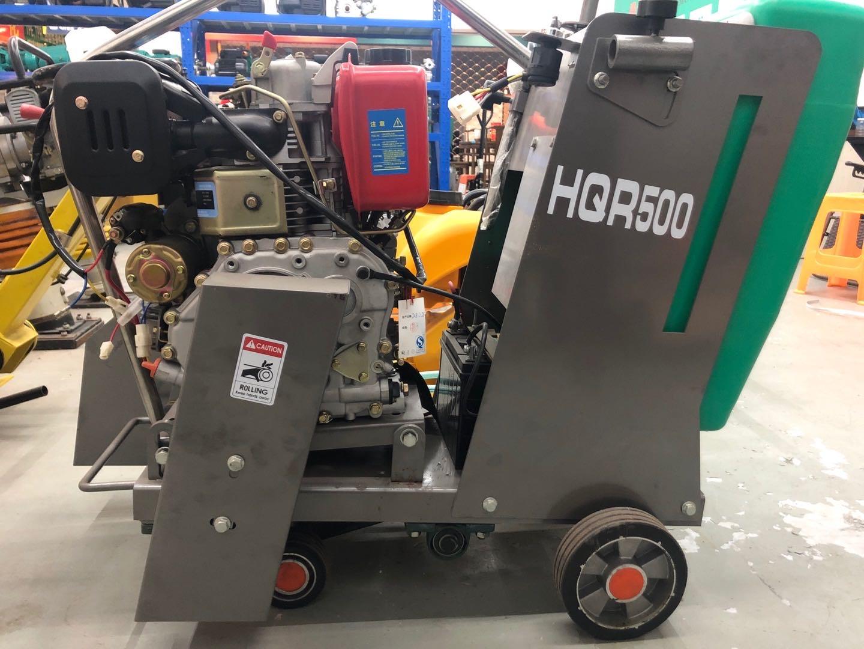 上海水立方机械厂混凝土路面切割机HQS/HQR500